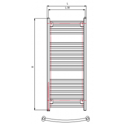 Vamzdinis radiatorius RONDO