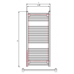 Vamzdinis radiatorius FINO